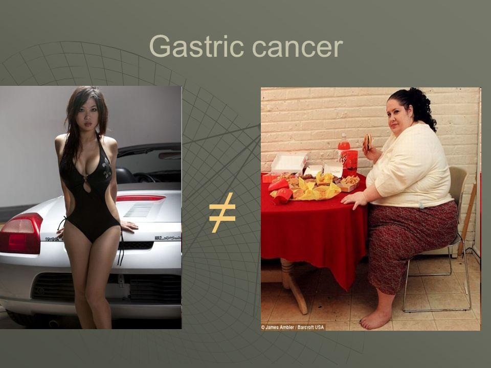 Gastric cancer ≠