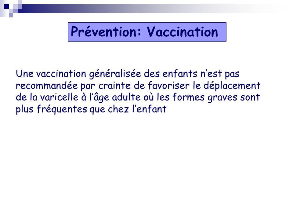 Prévention: Vaccination