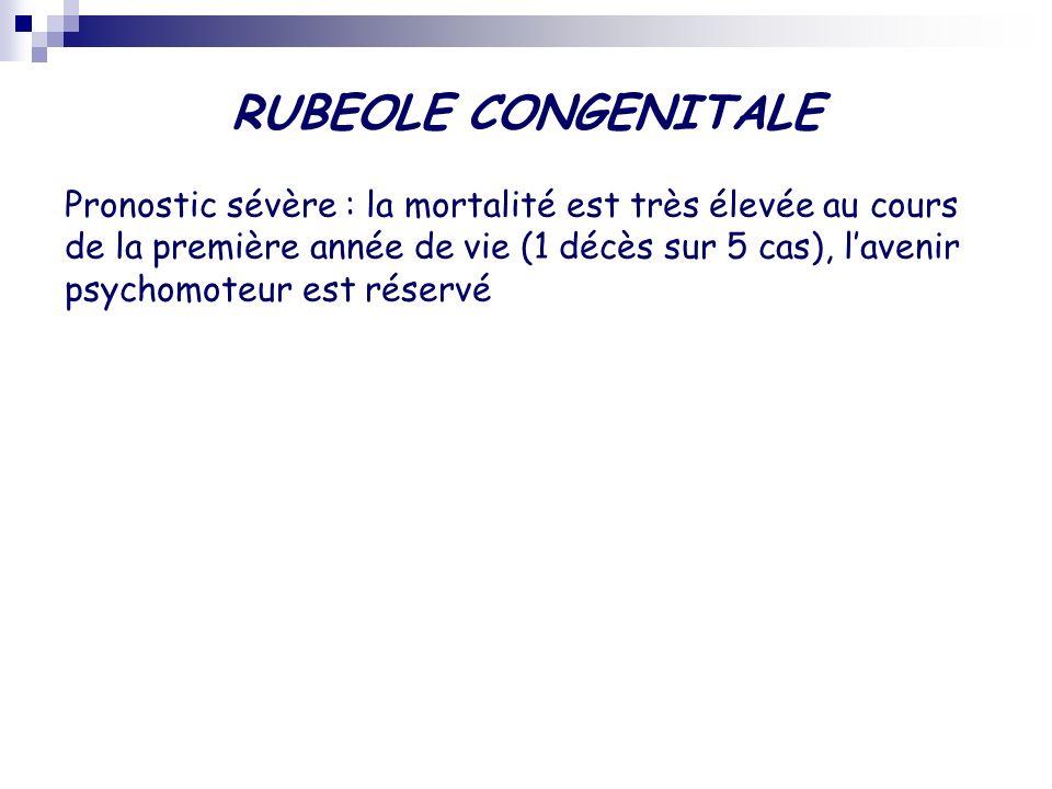 RUBEOLE CONGENITALE