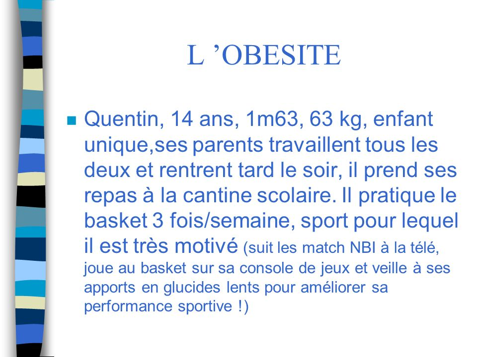 L 'OBESITE