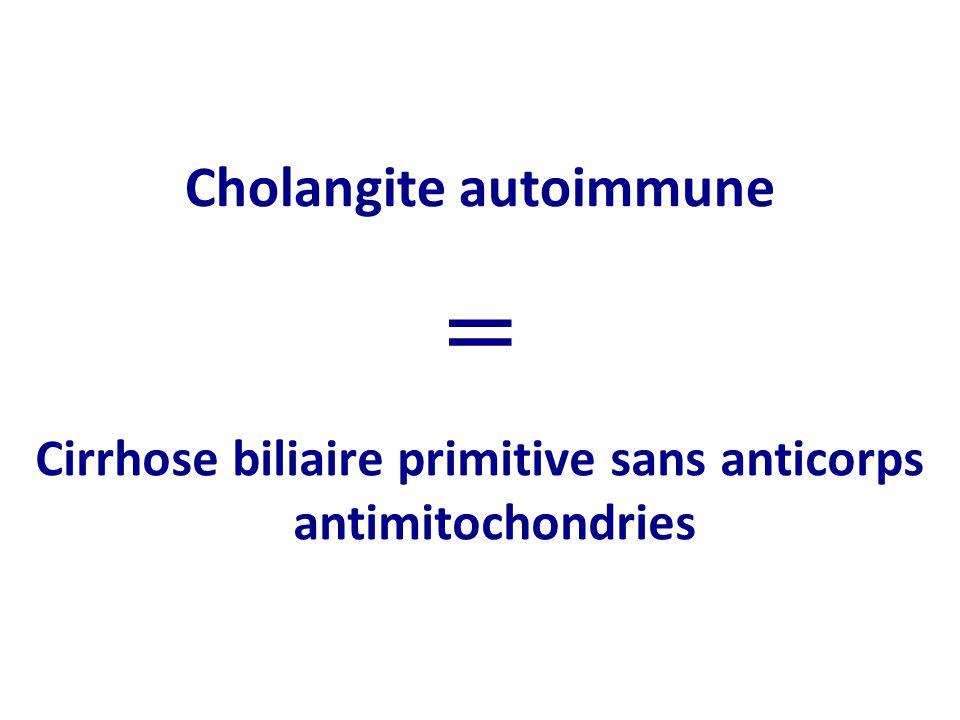 Cholangite autoimmune