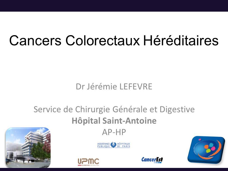 Cancers Colorectaux Héréditaires