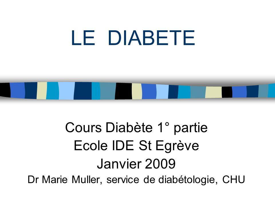 Dr Marie Muller, service de diabétologie, CHU