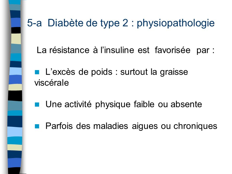 5-a Diabète de type 2 : physiopathologie