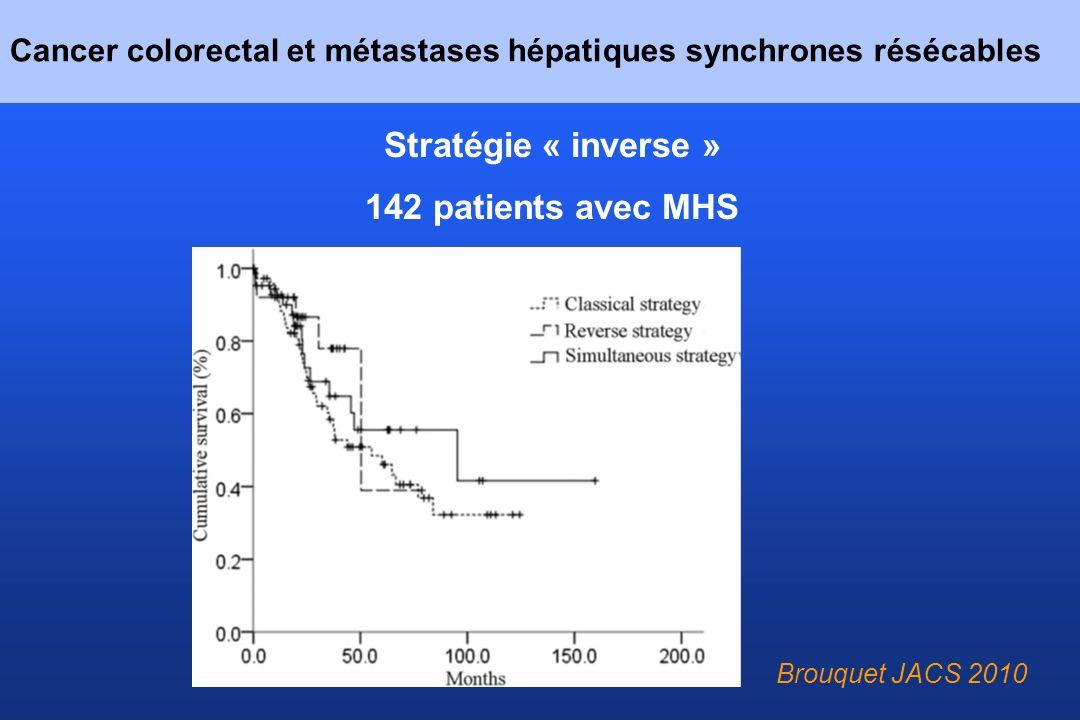 Cancer colorectal et métastases hépatiques synchrones résécables