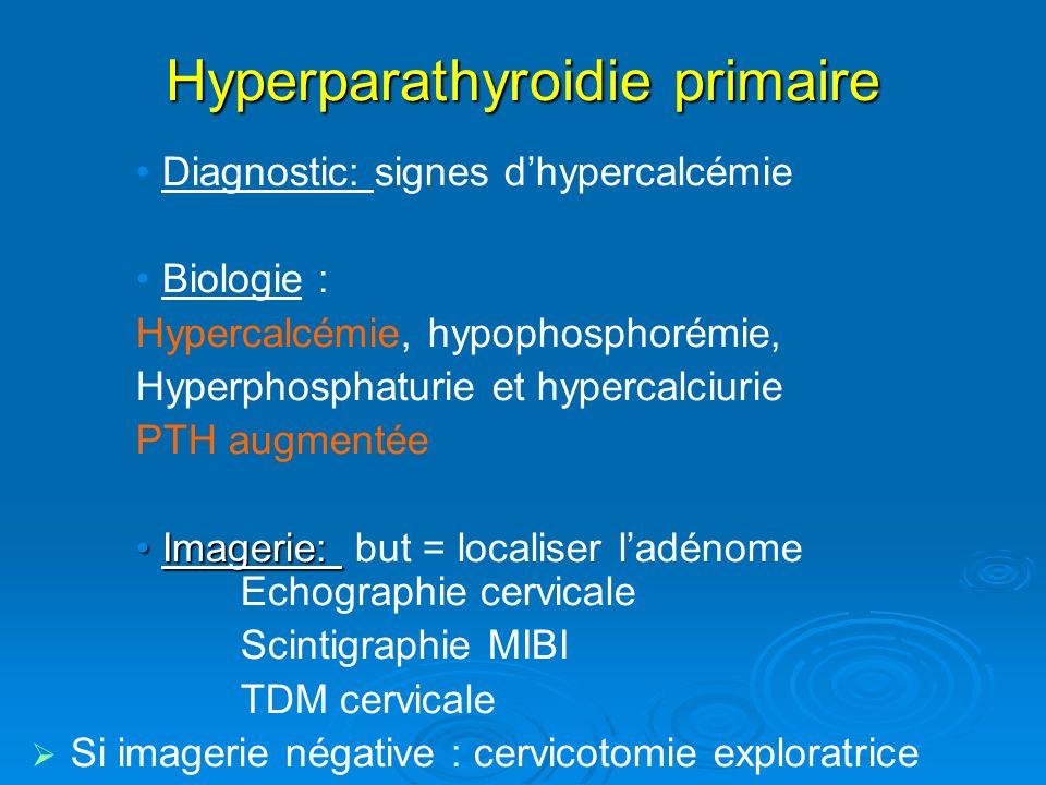 Hyperparathyroidie primaire