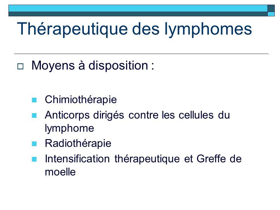 Thérapeutique des lymphomes