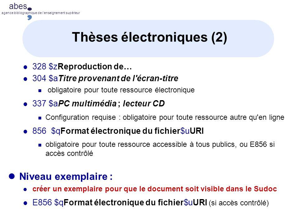 Thèses électroniques (2)