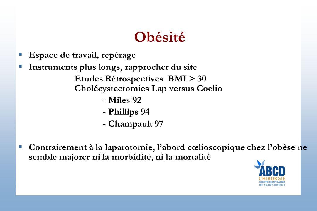 Obésité Espace de travail, repérage