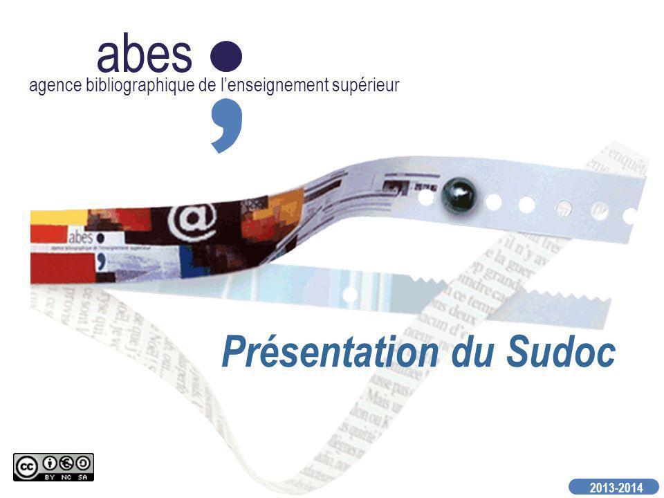 abes Présentation du Sudoc