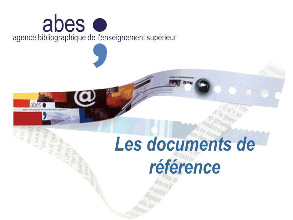 Les documents de référence