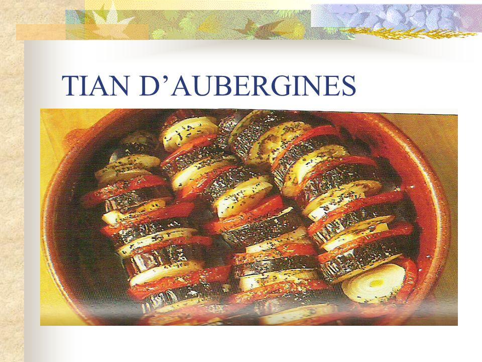 TIAN D'AUBERGINES