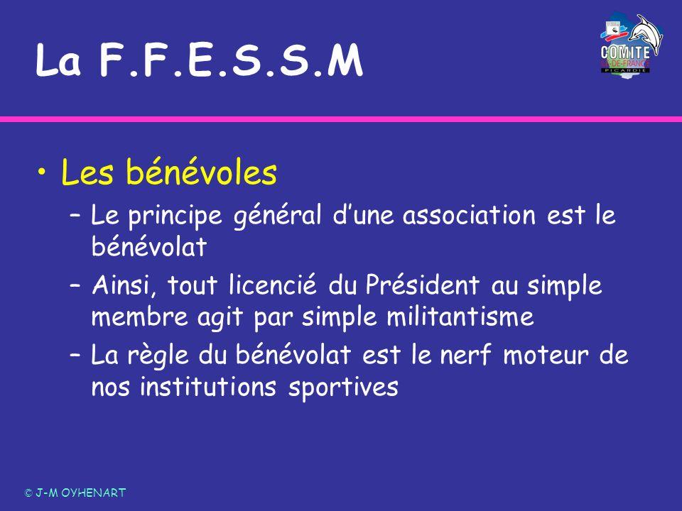 La F.F.E.S.S.M Les bénévoles