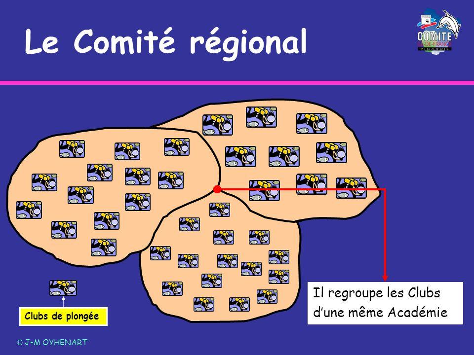 Le Comité régional Il regroupe les Clubs d'une même Académie