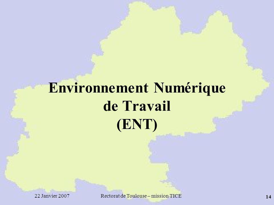 Environnement Numérique de Travail (ENT)