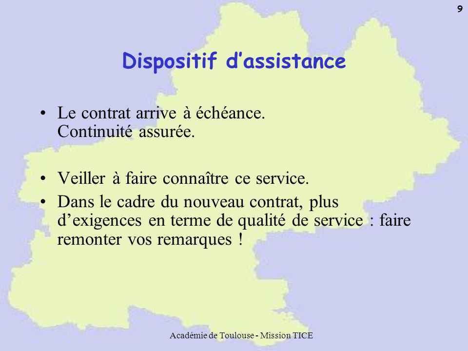 Dispositif d'assistance