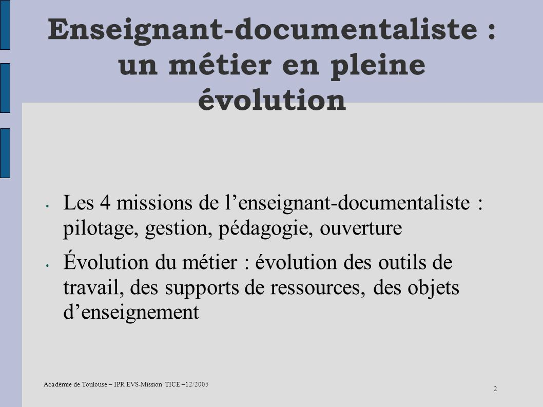 Enseignant-documentaliste : un métier en pleine évolution