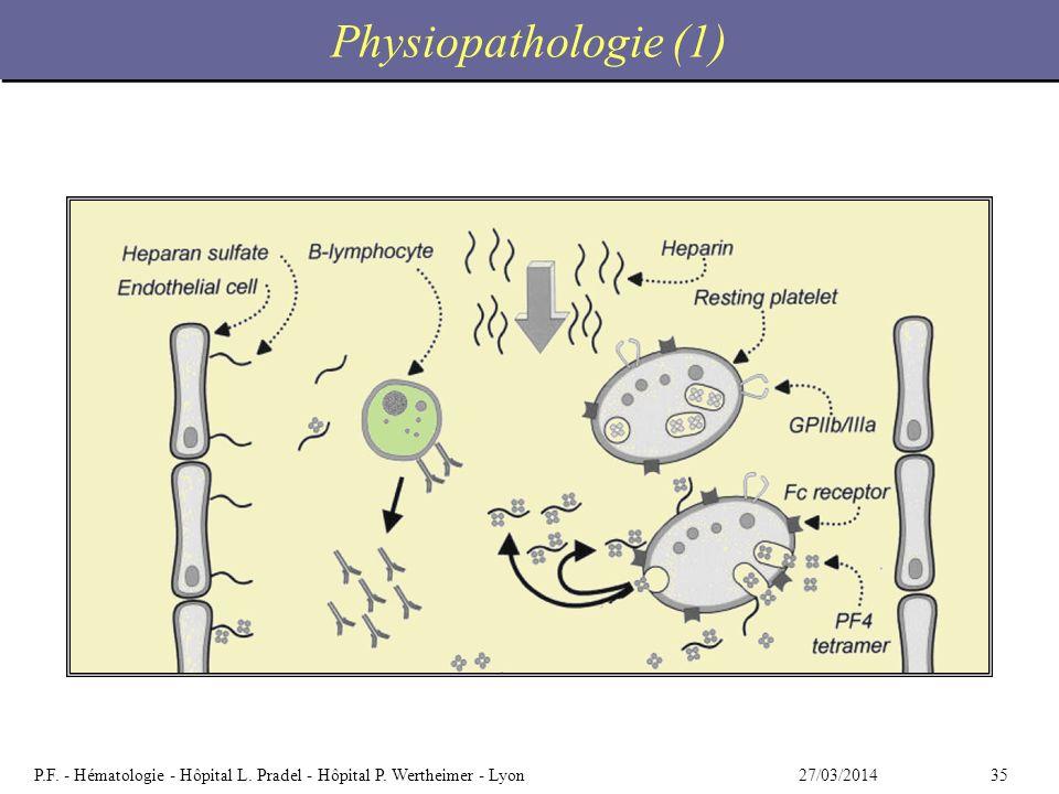 Physiopathologie (1)
