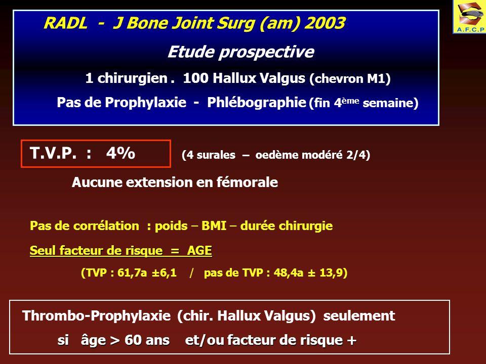 RADL - J Bone Joint Surg (am) 2003