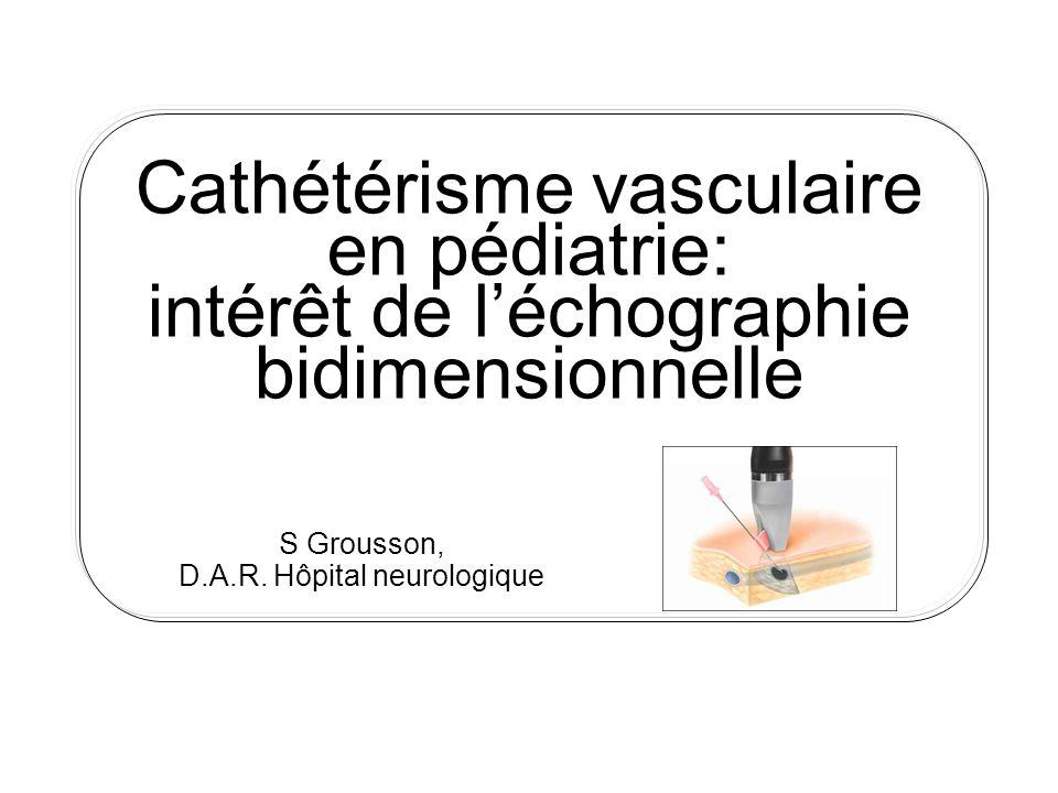 S Grousson, D.A.R. Hôpital neurologique