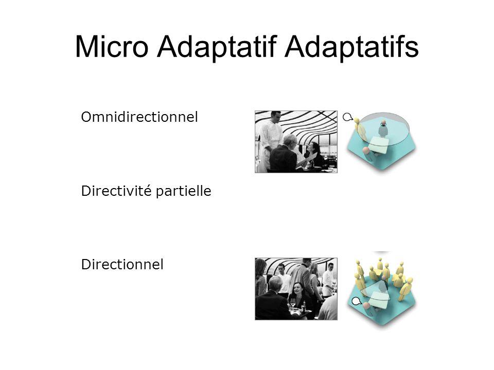 Micro Adaptatif Adaptatifs