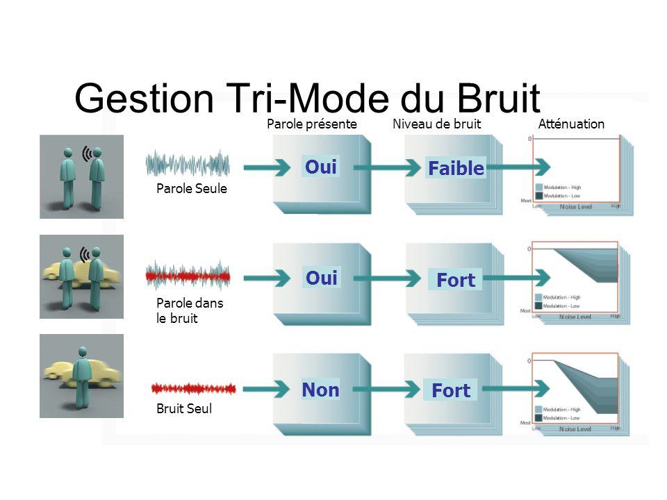 Gestion Tri-Mode du Bruit