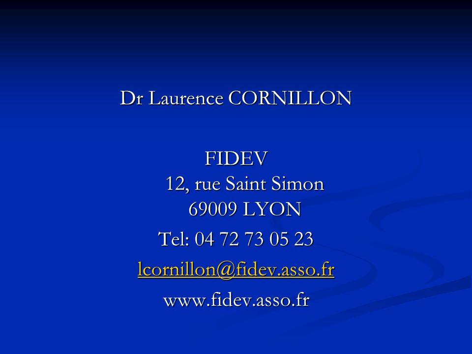 FIDEV 12, rue Saint Simon 69009 LYON