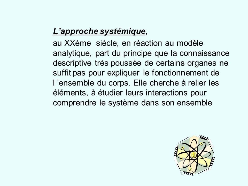 L'approche systémique,