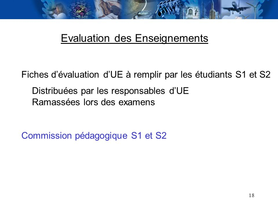 Evaluation des Enseignements