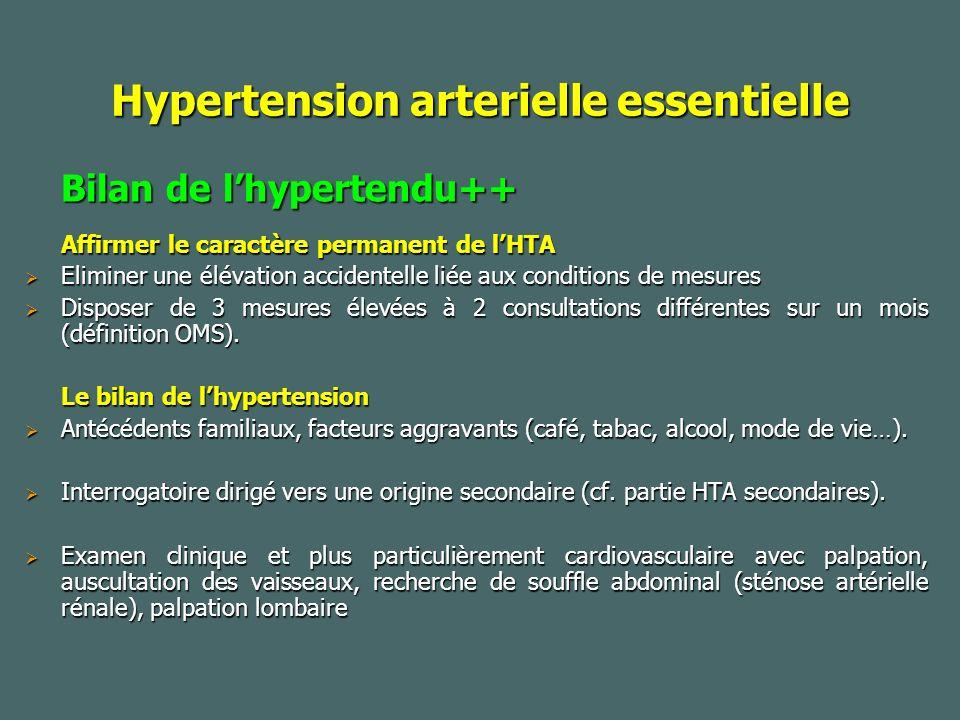 Hypertension arterielle essentielle