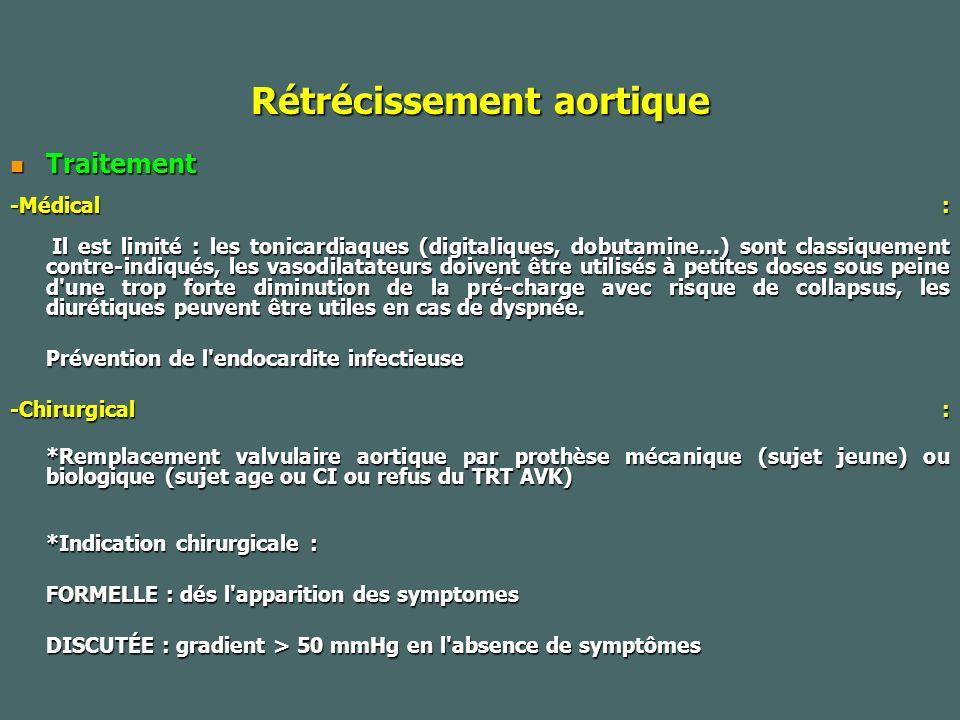 Rétrécissement aortique