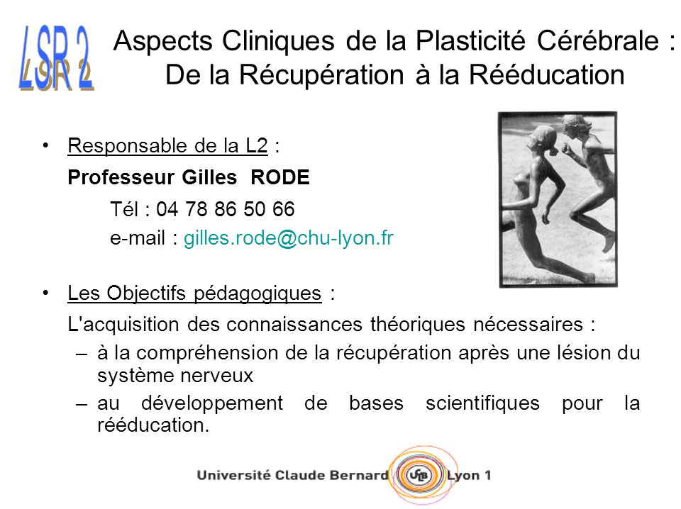 Aspects Cliniques de la Plasticité Cérébrale : De la Récupération à la Rééducation