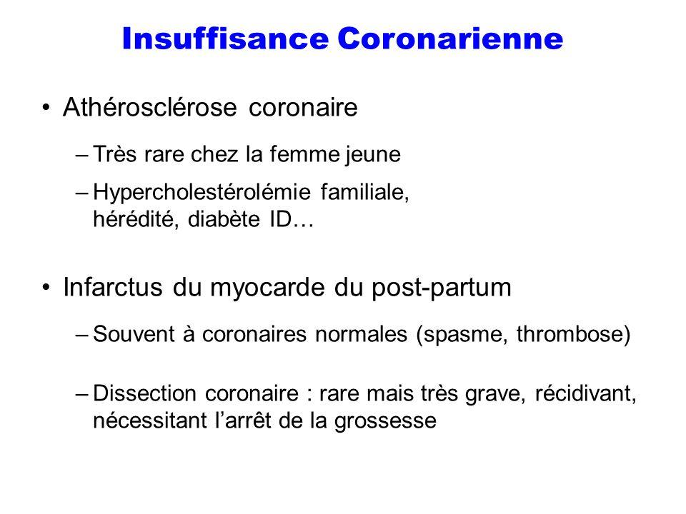 Insuffisance Coronarienne