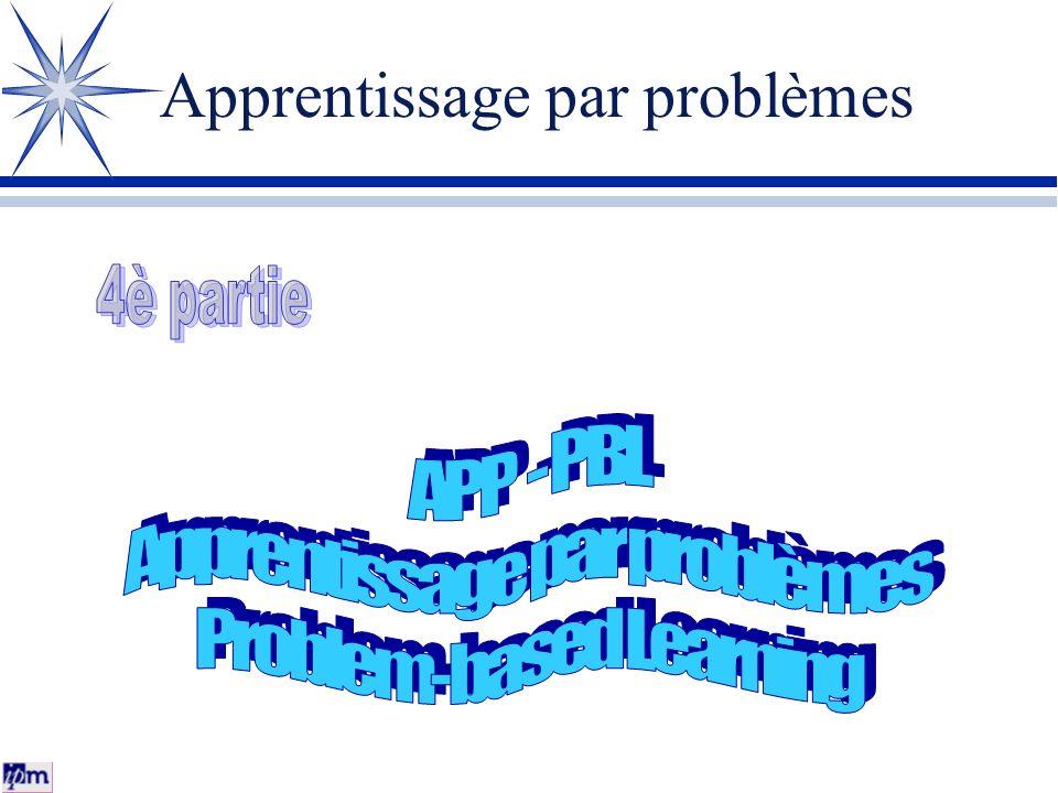 Apprentissage par problèmes