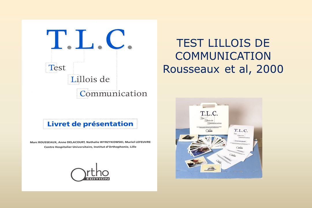 TEST LILLOIS DE COMMUNICATION