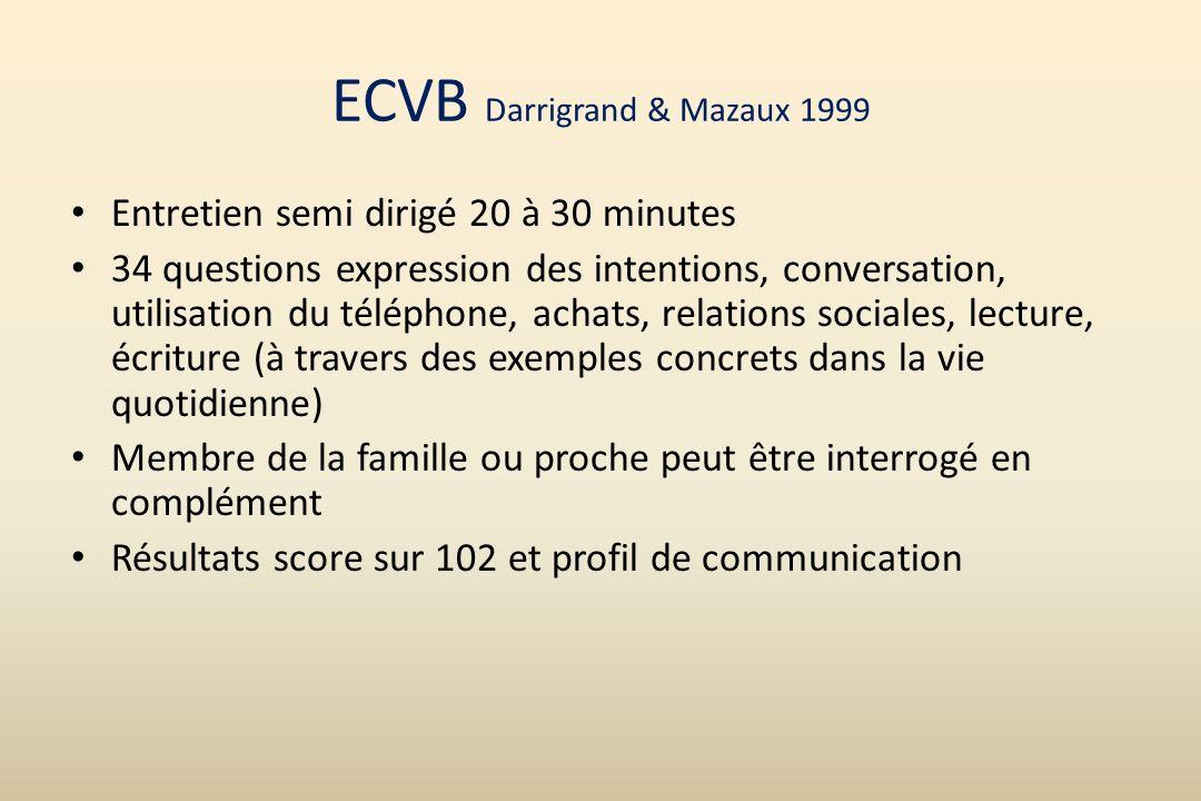 ECVB Darrigrand & Mazaux 1999