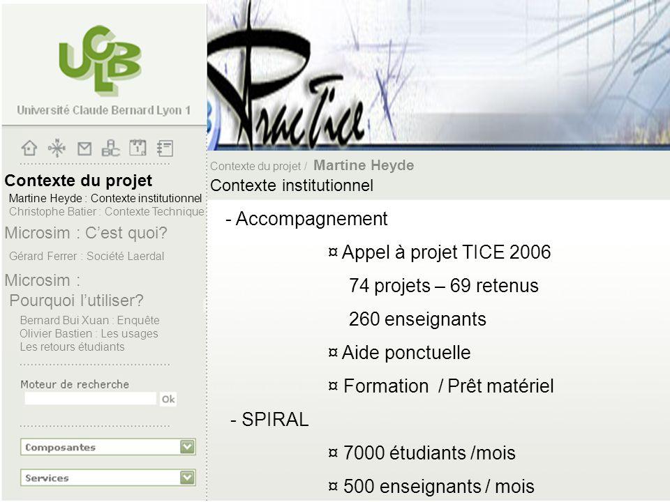¤ Formation / Prêt matériel - SPIRAL ¤ 7000 étudiants /mois