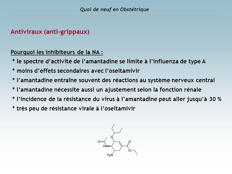 Antiviraux (anti-grippaux)