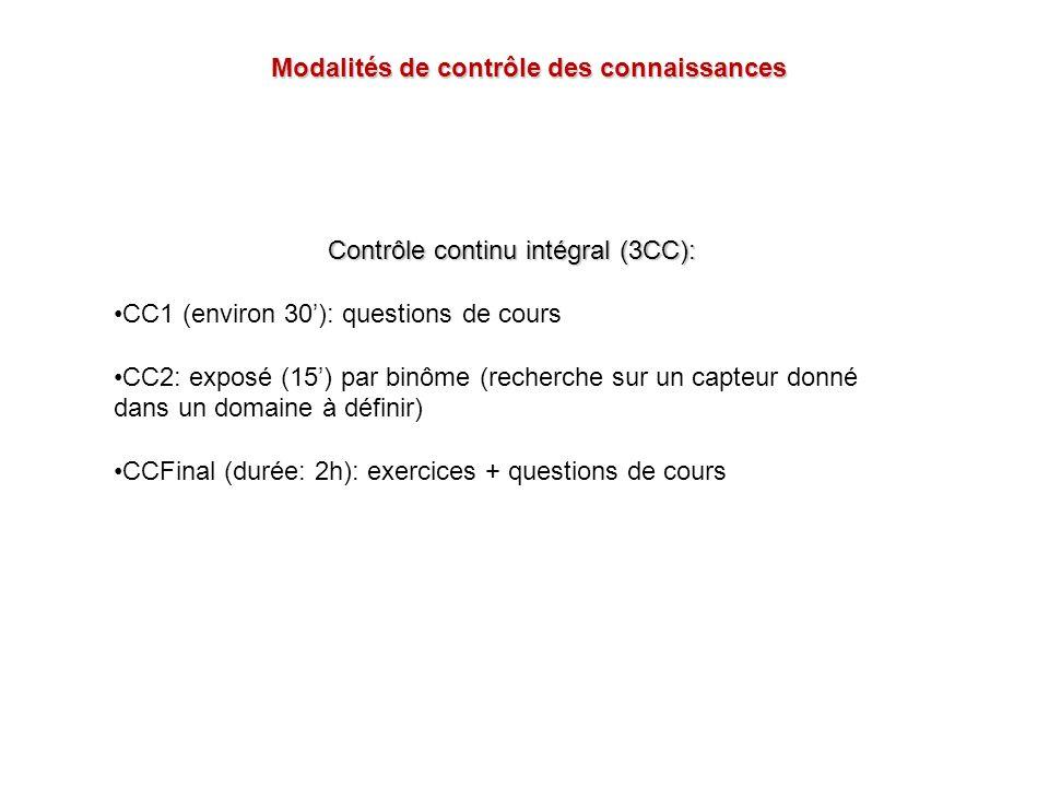 Contrôle continu intégral (3CC):
