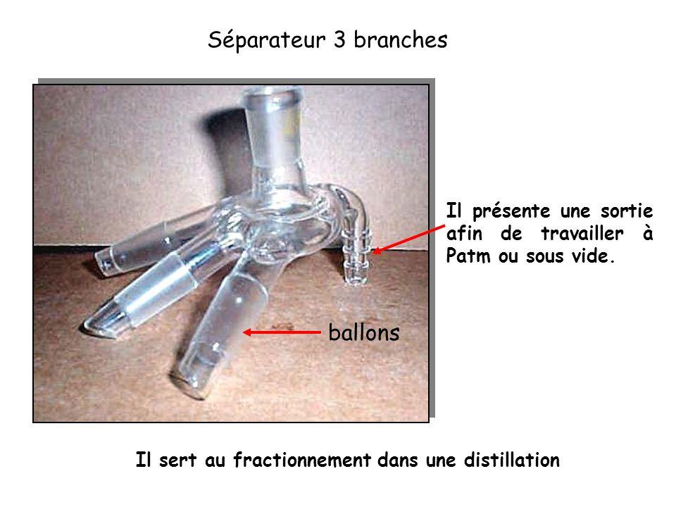 Séparateur 3 branches ballons