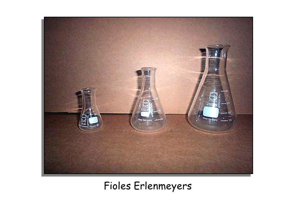 Fioles Erlenmeyers