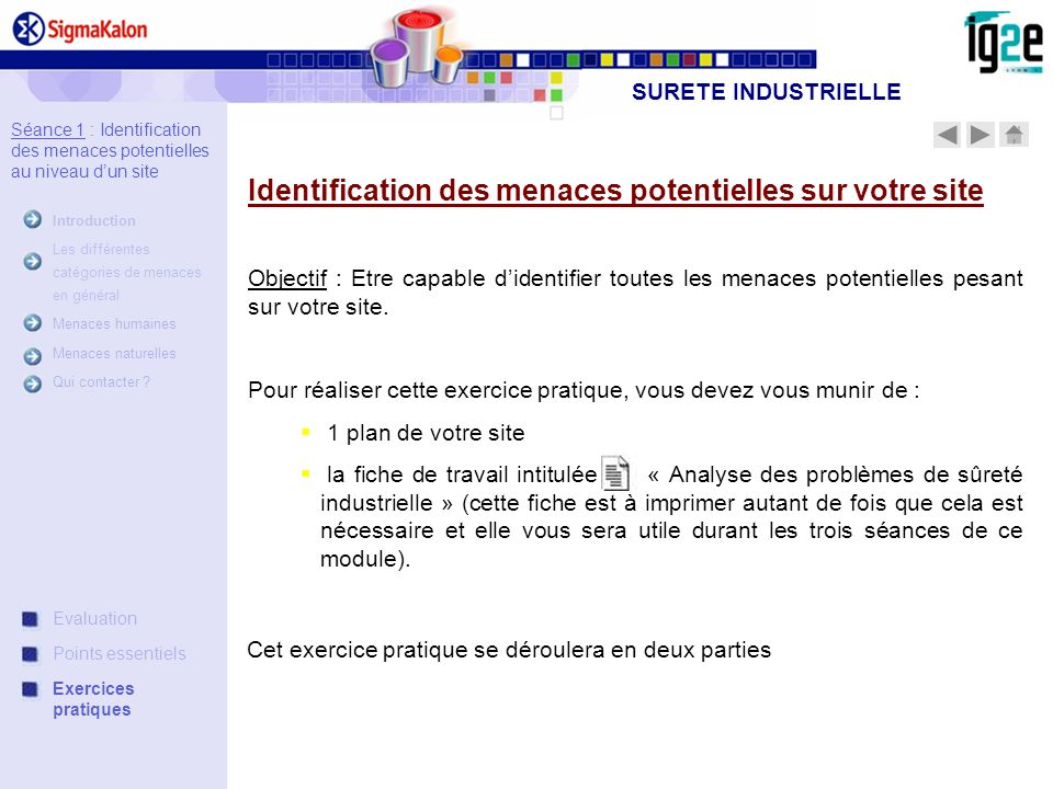 Identification des menaces potentielles sur votre site