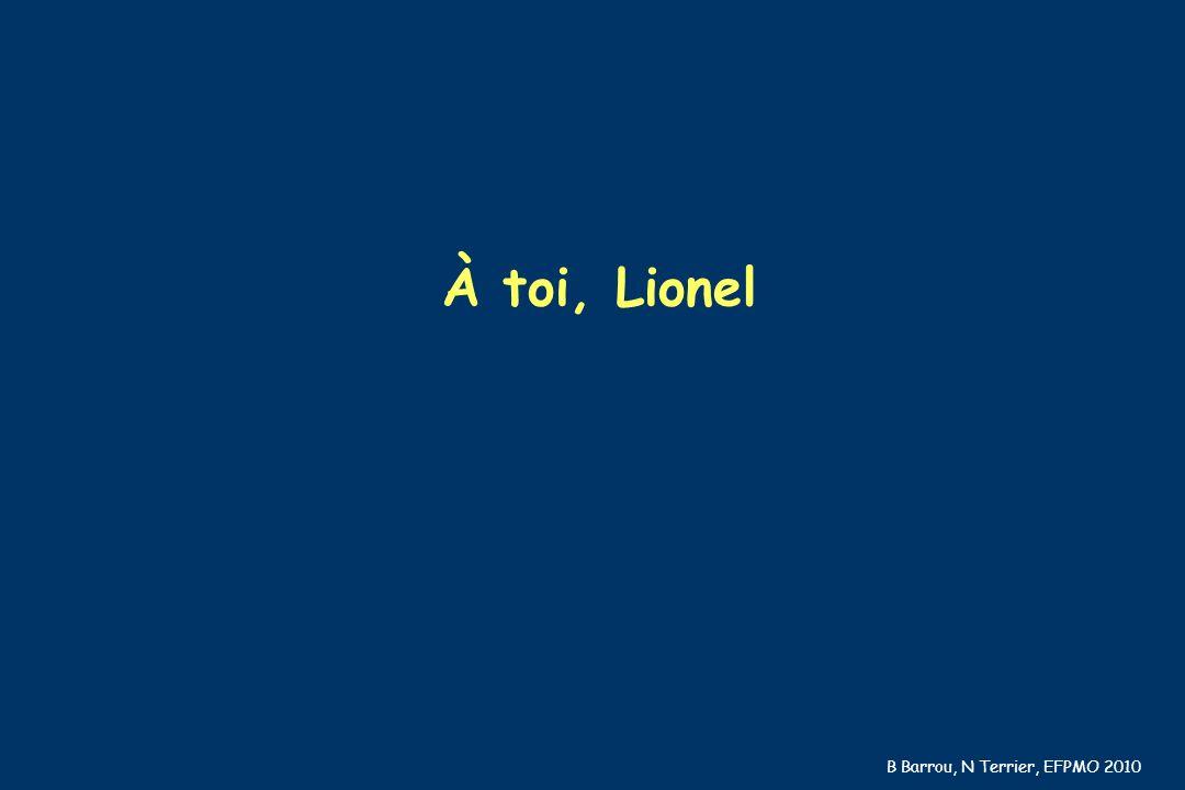 À toi, Lionel