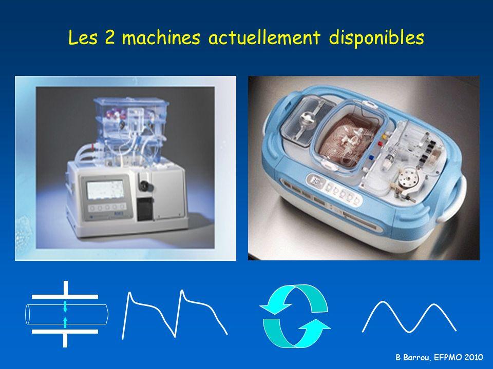 Les 2 machines actuellement disponibles