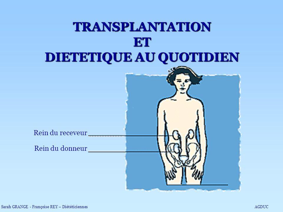 TRANSPLANTATION ET DIETETIQUE AU QUOTIDIEN