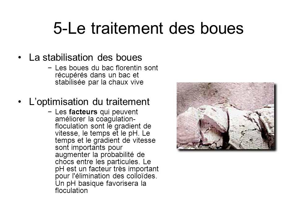 5-Le traitement des boues