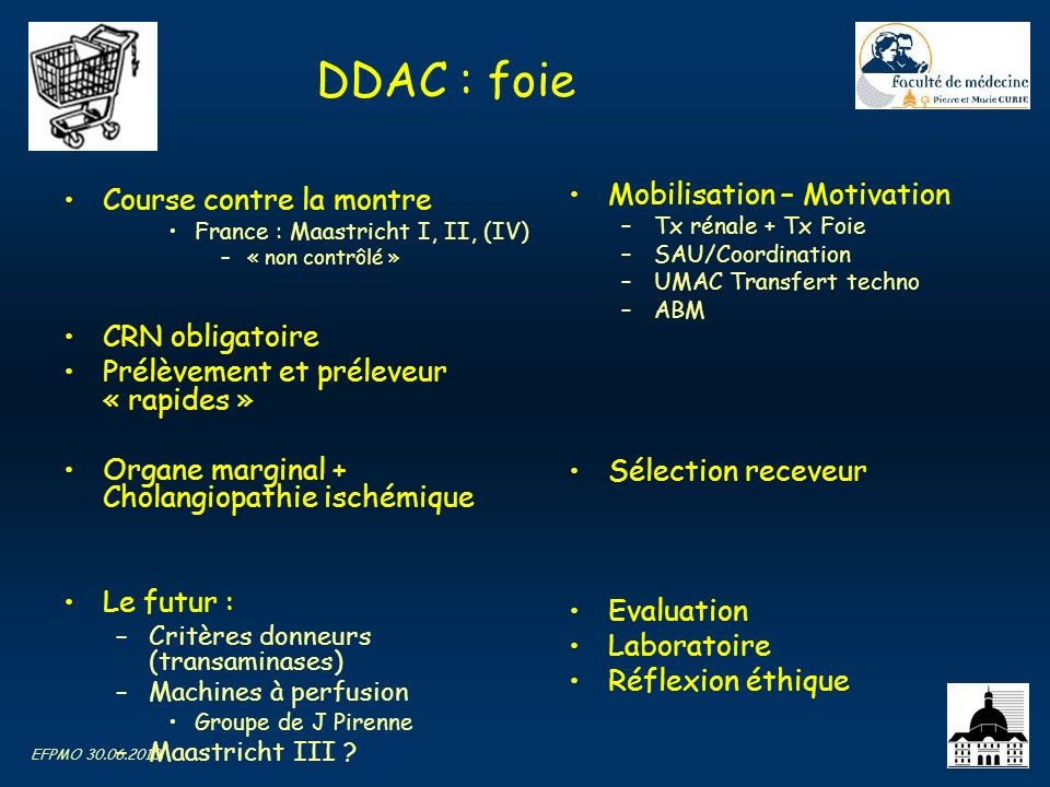 DDAC : foie Mobilisation – Motivation Course contre la montre