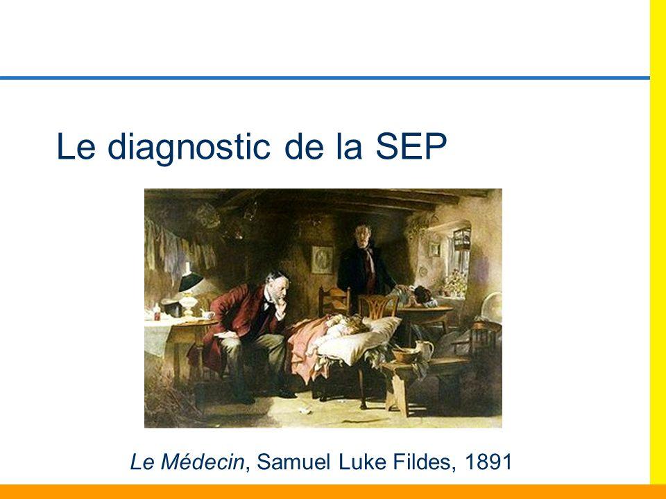 Le diagnostic de la SEP Le Médecin, Samuel Luke Fildes, 1891