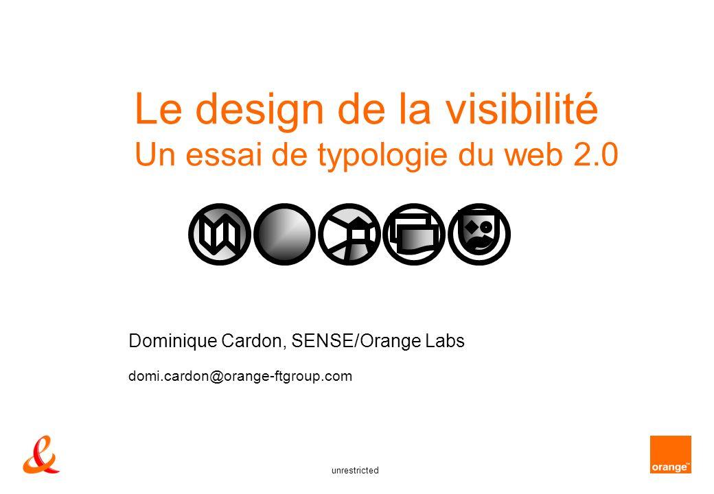 Le design de la visibilité Un essai de typologie du web 2.0