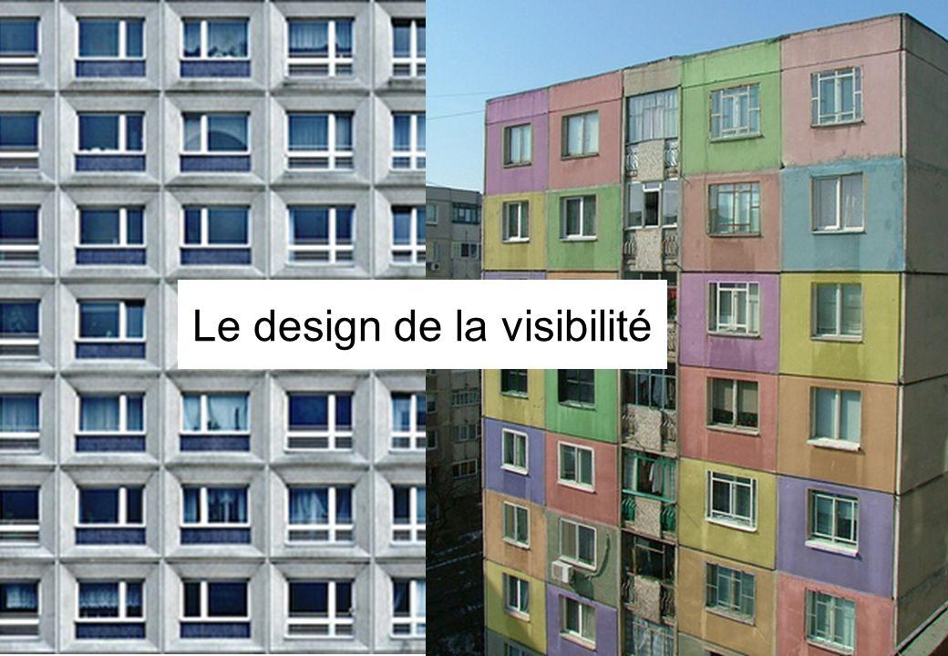 Le design de la visibilité